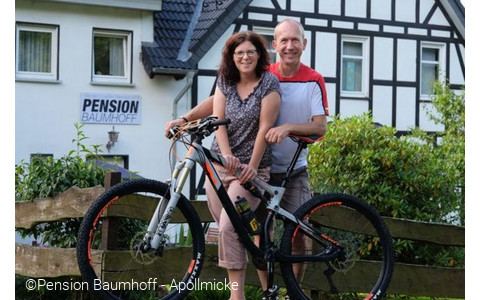 Orte Olpe E-bike-akku-ladestation-bike-pension-baumhoff Bike-pension-apollmicke-astrid-und-ju-rgen-baumhoff